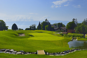 18th Green Evian GC