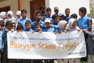 Baleygon School Project - Wild Frontiers Foundation