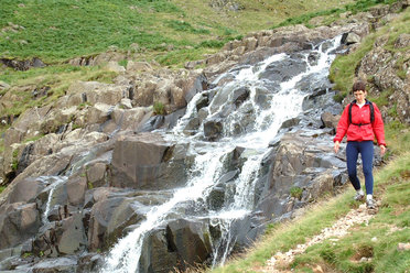 Waterfall on the Cumbria Way