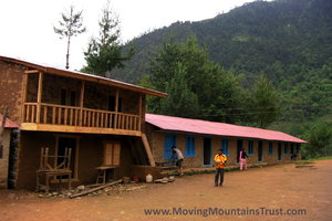 Renovating Schools for Sherpa villages where our staff live